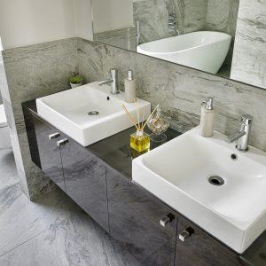 Italian designer bathroom