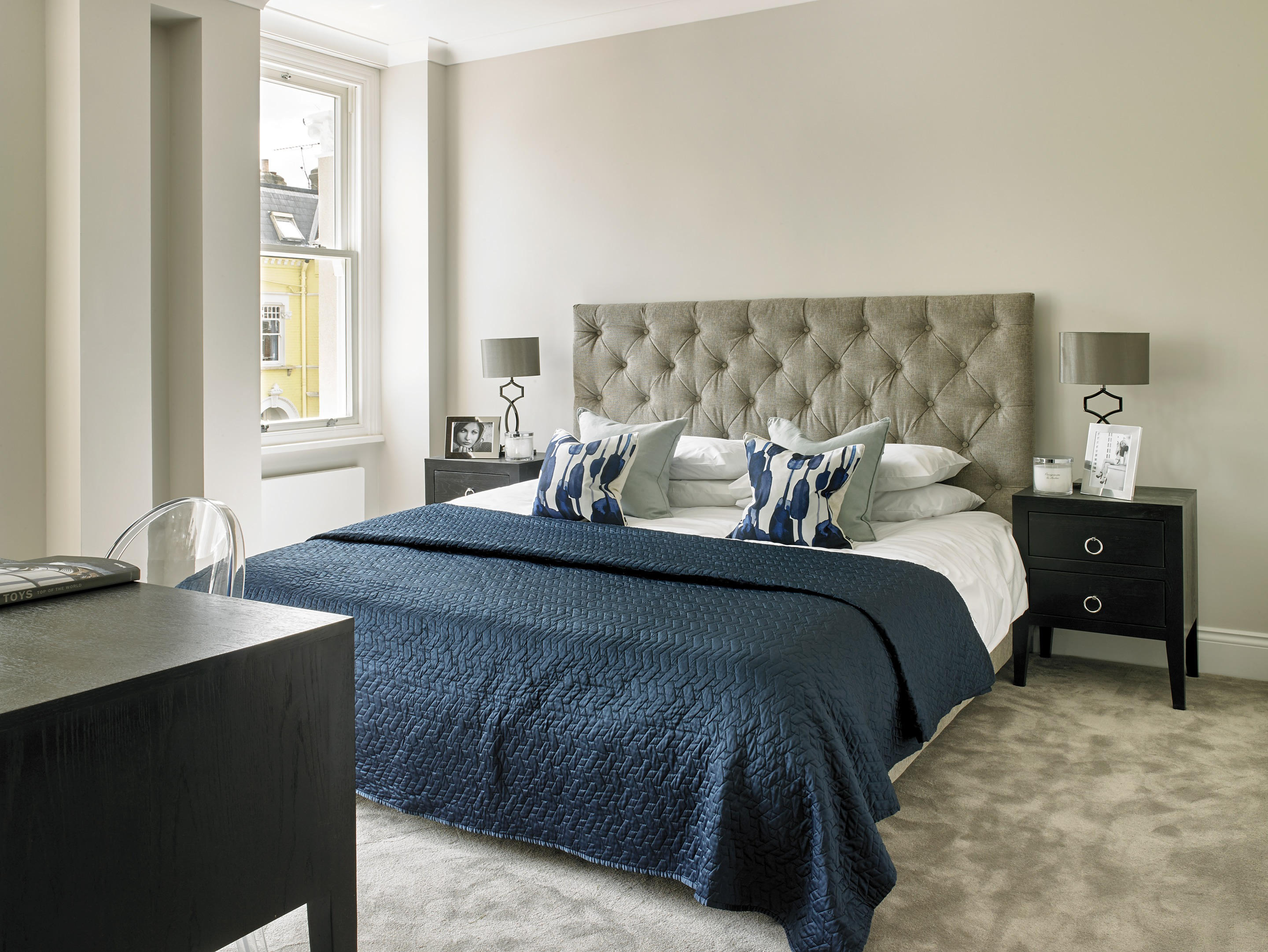 Master bed suite