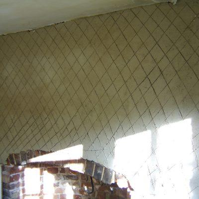 Lime plaster